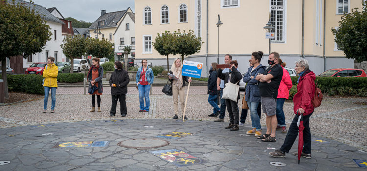 Auch die CDU beteiligte sich bei den vier Themen der Stadterkundung